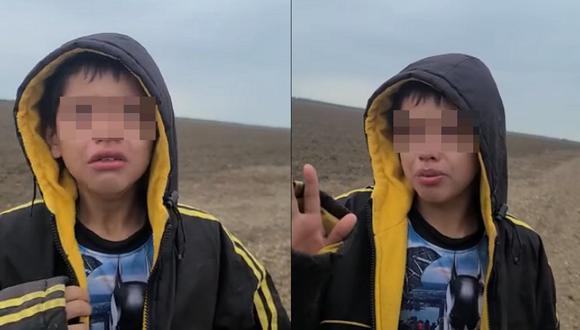 """La Policía nicaragüense confirmó la versión de los tíos del niño radicados en Estados Unidos, quienes sostienen que el menor y su mamá viajaban """"por puntos ciegos"""", fueron secuestrados en México, y solamente han podido pagar el rescate del menor. (Foto: captura YouTube)"""