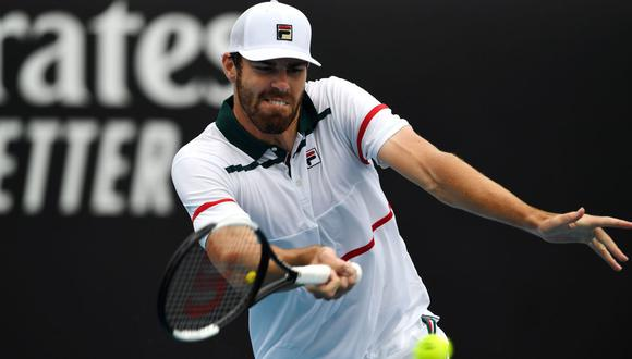 Reilly Opelka, tenista estadounidense. (Foto: AFP)