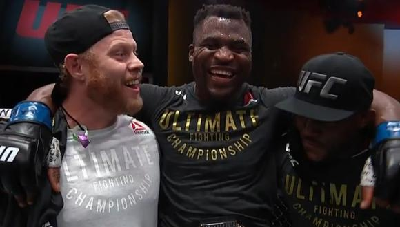 Francis Ngannou es el nuevo campeón de los pesos pesados de la UFC