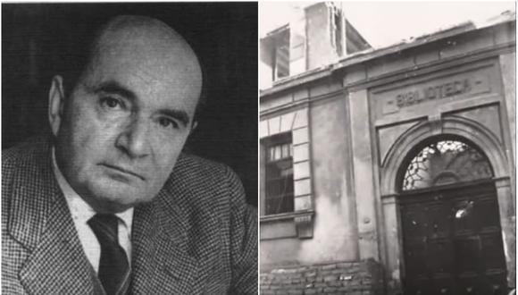 Jorge Basadre tuvo la tarea de reconstruir la Biblioteca Nacional del Perú tras su incendio en mayo de 1943. (Foto: Archivo BNP)