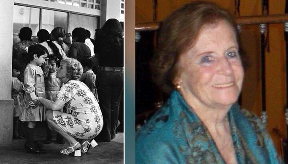 Maestra toda la vida: Maribel Cormack Lynch. FOTOS: Archivo Histórico El Comercio / cortesía