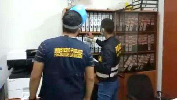 La diligencia se lleva a cabo vía la Coordinación Nacional de las Fiscalías Especializadas en Corrupción de Funcionarios, a cargo del fiscal superior Omar Tello. (Foto: Ministerio Público)