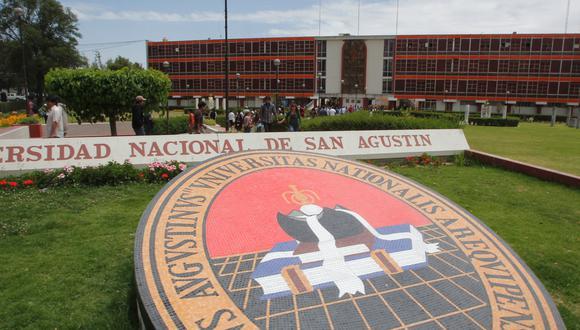 Universidad Nacional San Agustín de Arequipa. (Foto: Difusión)