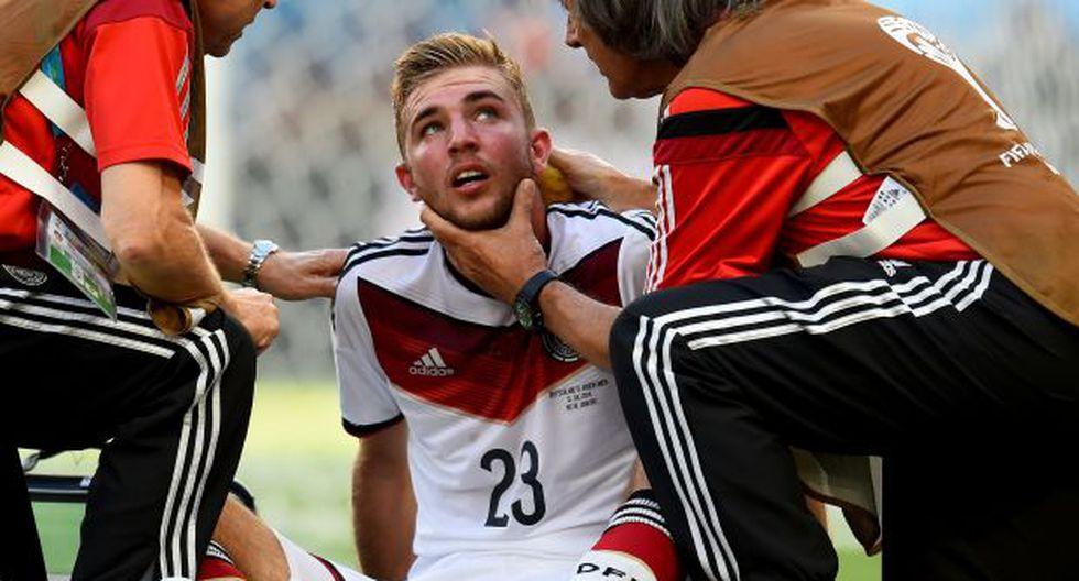 FIFA propone pausa de 3 minutos en caso de conmoción cerebral