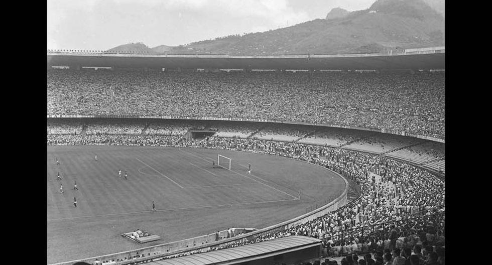 Imagen de la inauguración del estadio Maracaná, poco antes de la Copa del Mundo de 1950. (Foto: Wikimedia Commons)