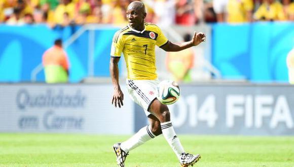 Colombiano Pablo Armero estaría cerca de fichar por el Milan