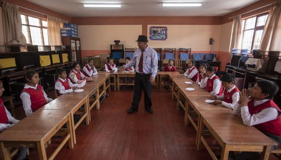 Ministerio de Educación dispone el inicio de clases presenciales en zonas rurales. (Foto: Anthony Niño de Guzman/GEC)