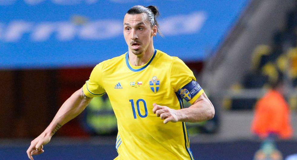 Por más que el entrenador de la selección de Suecia ha asegurado que Zlatan Ibrahimovic es una opción remota para Rusia 2018, el artillero escandinavo asegura, una y otra vez, que irá al Mundial. (Foto: AFP)