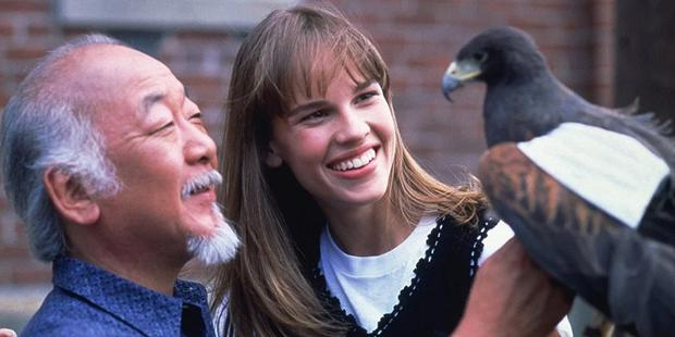 It would be interesting to see Tory find out that her mother studied with Miyagi (Photo: Columbia Pictures)