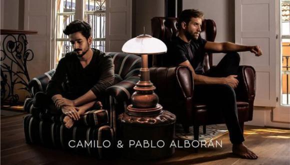 """Pablo Alborán colabora con Camilo en una versión de """"El mismo aire"""". (Foto: Instagram)"""