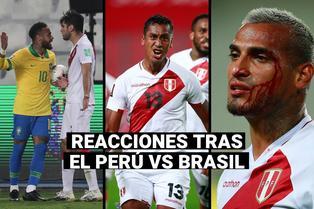 Perú vs. Brasil: Así reaccionaron los futbolistas de la selección tras el polémico arbitraje