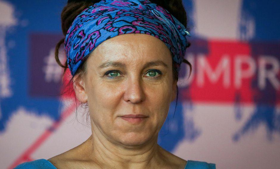 Olga Tokarczuk, Nobel de Literatura 2018. (Foto: AFP)