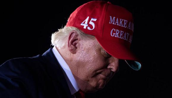 Donald Trump ha sido derrotado en su intento de reelección de acuerdo a las proyecciones de la BBC. (Getty Images).