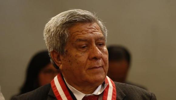 En un comunicado, el juez Vicente Walde Jáuregui aseveró que su conversación con el ex juez supremo César Hinostroza no tiene contenido ilícito. (Foto: GEC)