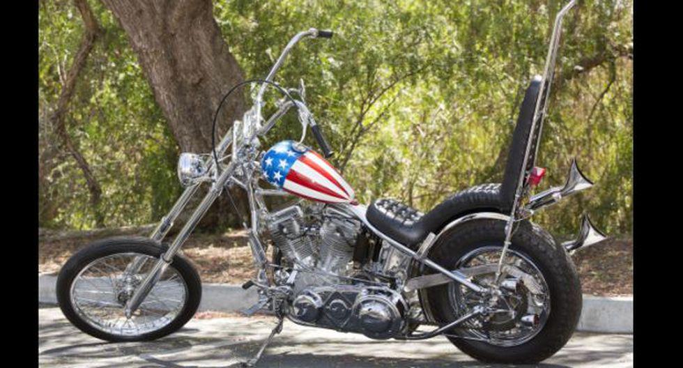"Subastarán la motocicleta de Peter Fonda en ""Easy Rider"""