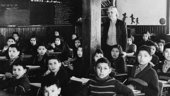 Además de hambre, los niños pasaban frío. (ESCUELA RESIDENCIAL SHINGWAUK/ REUTERS).