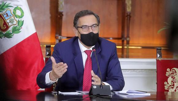 El presidente Martín Vizcarra no ha logrado celeridad en el trámite de los proyectos de ley presentados hasta la fecha (Foto: Presidencia Perú)