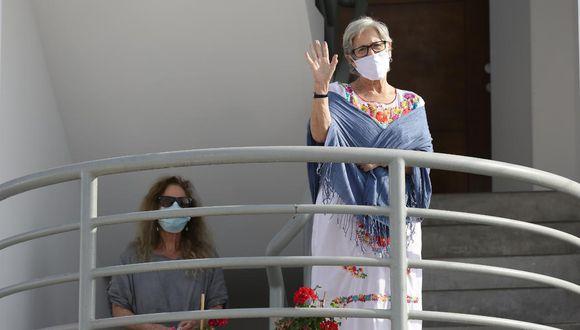 Susana Villarán afrontará investigación en su contra bajo arresto domiciliario (Foto: Fernando Sangama/GEC)