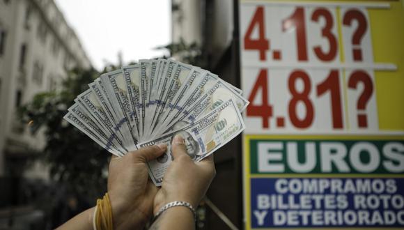 ¿Cuál es el precio del dólar en Perú? (Foto: GEC)