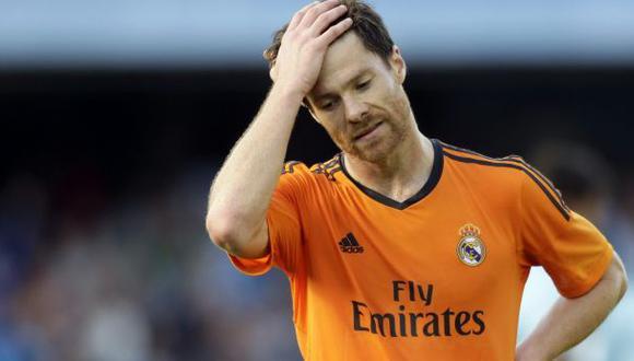 Xabi Alonso se perderá la Supercopa entre Real Madrid y Sevilla