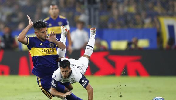 Apenas lleva disputados dos partidos con Boca Juniors y ahora tendrá una para obligada. Carlos Zambrano también será baja en el inicio de las Eliminatorias. (Foto: AP).