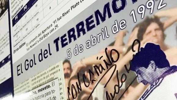 Hoy se cumplen 28 años de uno de los goles más gritados en la historia del fútbol argentino. (Foto: Facebook Gimnasia y Esgrima La Plata)