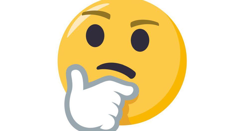 El Emoji pensativo está en WhatsApp.