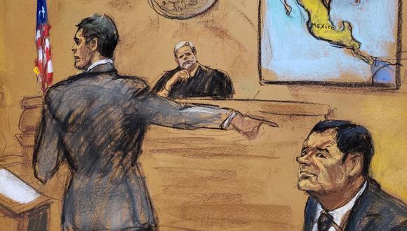 El Chapo Guzmán fue condenado a cadena perpetua más 30 años por Estados Unidos. (Foto: EFE)