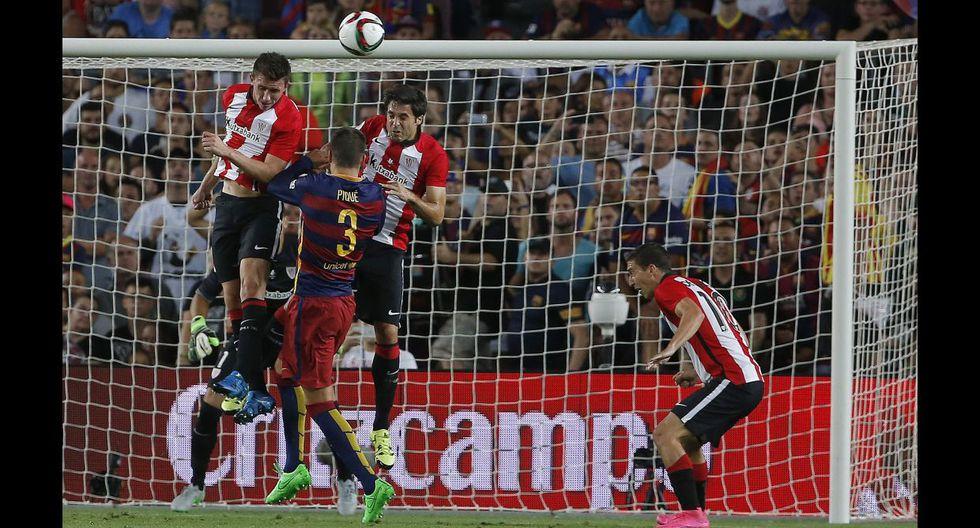 Barcelona: la dura marca del Athletic para detener a culés - 11