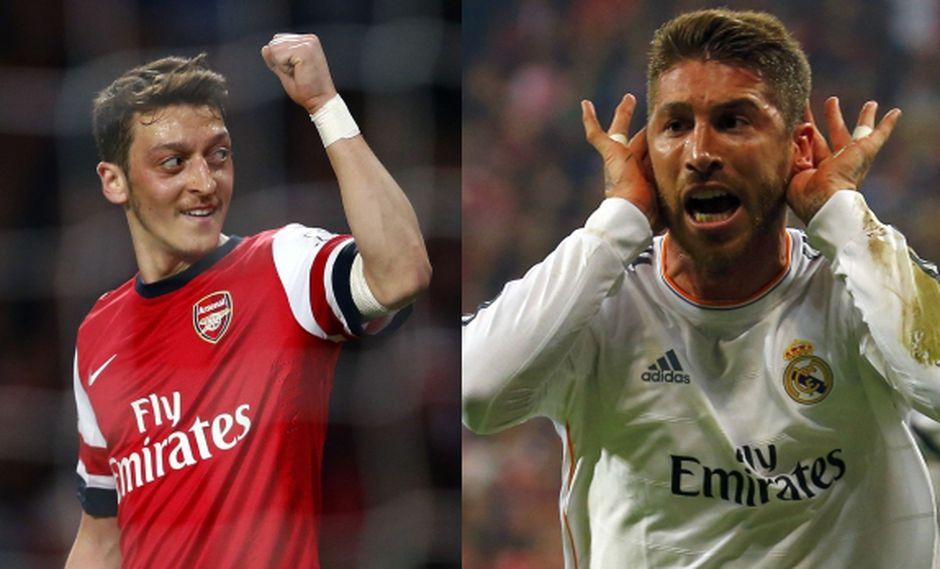 Mesut Özil y el tuit que le dedicó a Sergio Ramos