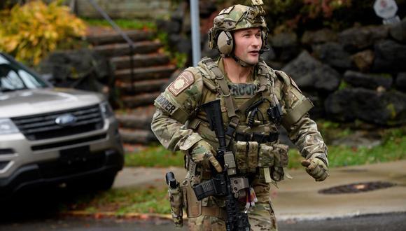 """Tiroteo en Pittsburgh: Atacante de sinagoga Robert Bowers evocó """"genocidio y deseo de matar judíos"""". (AFP)."""