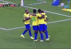 Perú vs. Brasil: Everton Ribeiro puso 1-0 a la 'Canarinha' tras pase de Neymar   VIDEO