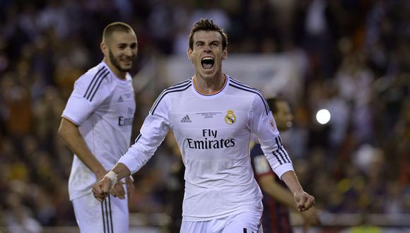 Gareth Bale fichó por el Real Madrid proveniente del Tottenham. (Foto: AFP)