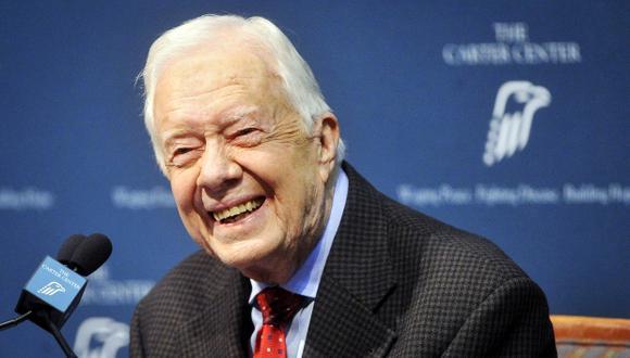 Jimmy Carter, ex presidente de estados Unidos (1977 a 1981) se ofreció para viajar a Corea del Norte en medio de tensiones. (Foto archivo: Reuters)