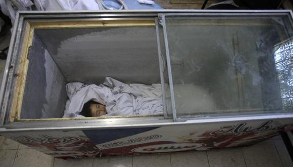 "Gaza: ""Cadáveres de niños en congeladoras para helados"""