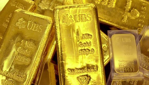 Los futuros del oro en Estados Unidos ganaban un 0.2%, a US$1,288.20 la onza. (Foto: AFP)