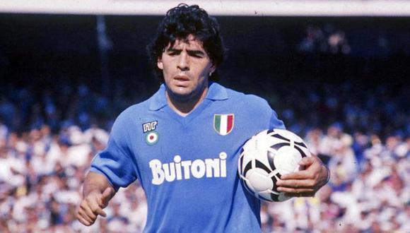 Diego Maradona tuvo los mejores años de su carrera en el Napoli. Ahí se convirtió en ídolo y conquistó un total de cinco títulos. (Youtube)