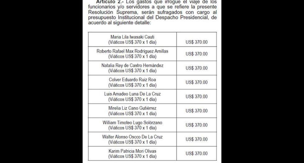 Mercedes Aráoz se encargará mañana del despacho presidencial - 2