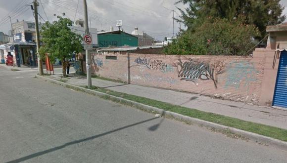 Un usuario de Google Maps se encontró con una escena indecorosa al hacer un recorrido virtual por una avenida de Celaya, en México   Foto: Google Maps