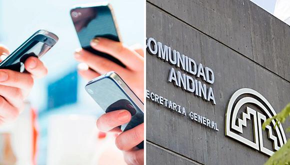 Eliminarán roaming telefónico entre Perú y países miembros de la CAN.