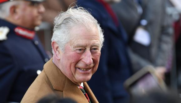 El príncipe Carlos estaba en cuarentena por coronavirus. (EFE/EPA/NEIL HALL).