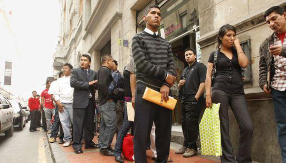 En el Perú, se perdieron 2,6 millones de puestos de trabajo durante la cuarentena. (Foto: GEC)