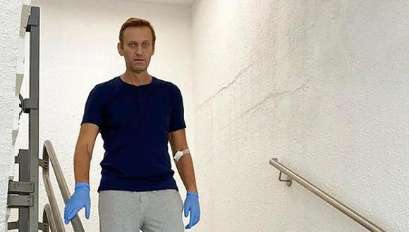 Alexei Navalny publica una foto suya caminando y narra sobre su recuperación. (Instagram de Alexei Navalny).