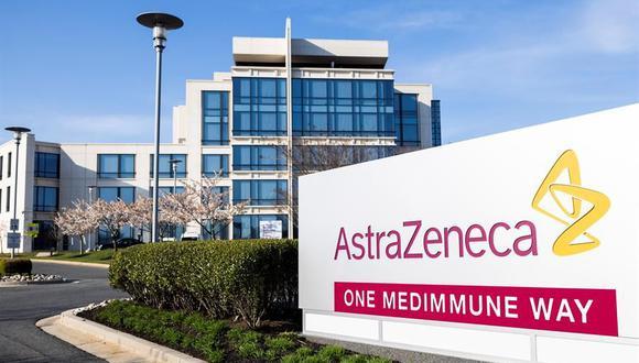 Una de las sedes de la farmaceútica AstraZeneca en Estados Unidos. (Foto: EFE/EPA/JIM LO SCALZO).