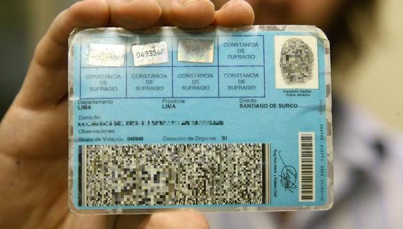 El DNI es indispensable para hacer efectivo el derecho al voto.(Foto: GEC)