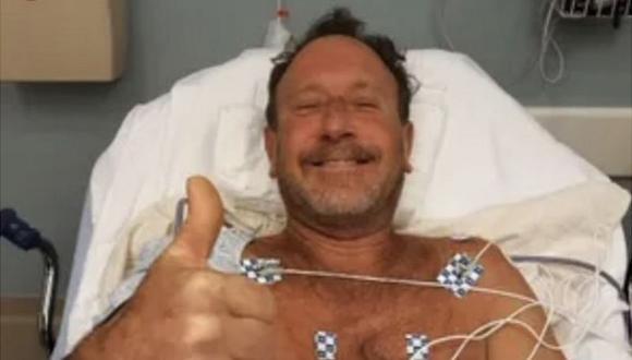 Michael Packard dice que estaba buceando cuando acabó dentro de la boca de una ballena por entre 30 y 40 segundos en las costas de Provincetown, en Massachusetts. (Familia Packard).