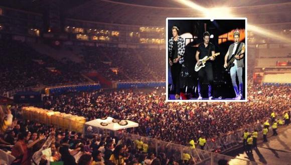 One Direction en Lima: hasta 200 casos de asfixia y desmayo