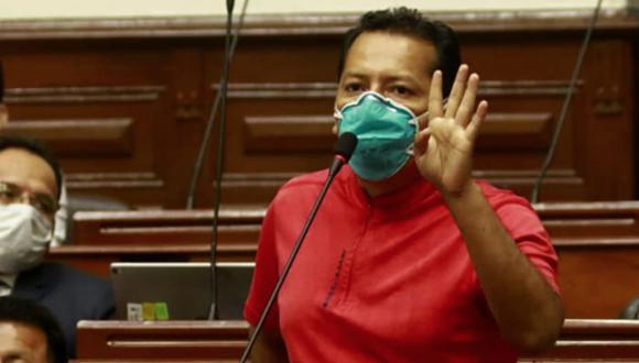 Posemoscrowte Chagua es uno de los autores de la iniciativa legislativa (Foto: Congreso).