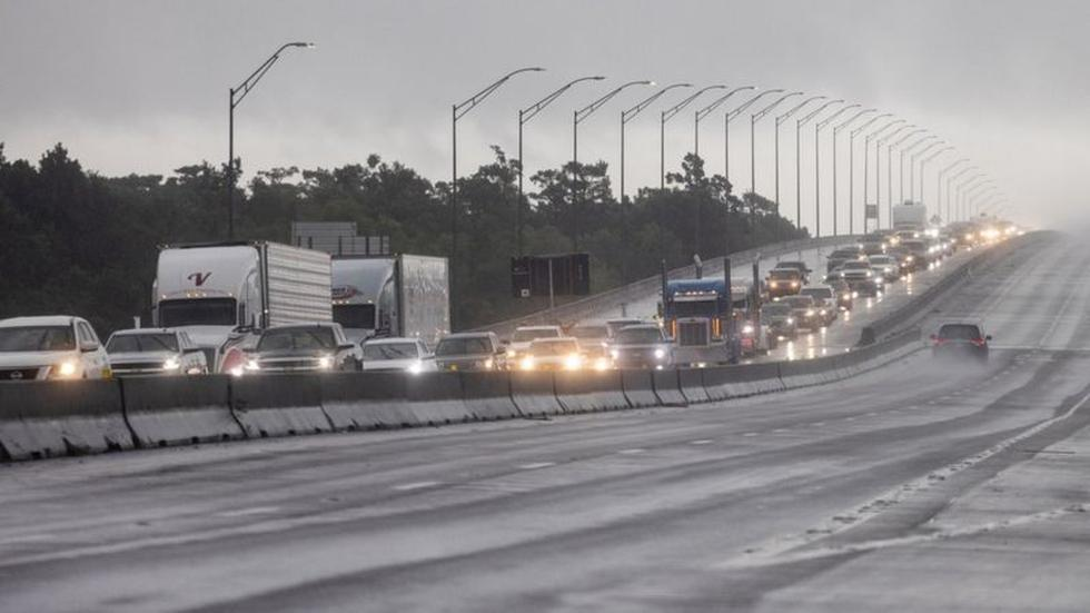 Louisiana's exit highways collapsed as residents sought to move to safer places away from the coast. However, President Biden warned that northern regions of the state will also face the effects of Ida. (REUTERS).