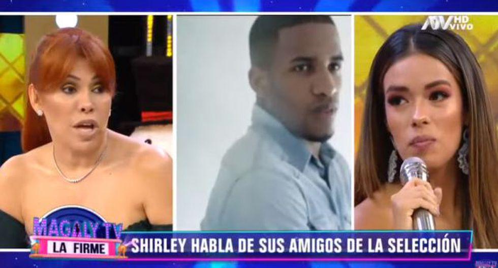 Shirley Arica reapareció en televisión y habló de Jefferson Farfán, Christian Cueva y otros jugadores. (Imagen: ATV)